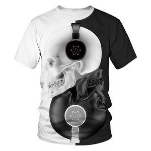 Janpanese animado 3d hombres impresos camisetas de la moda de lujo transpirable camiseta ataque contra la mujer de manga corta camiseta titan encabeza con gran tamaño