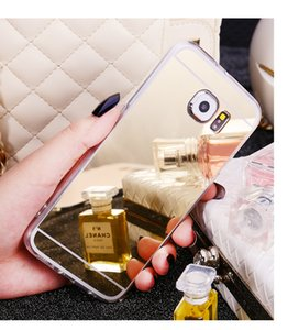 Mirror Effect Soft TPU Case For Samsung Galaxy Note 9 S6 S7 Edge Grand Prime A3 A5 A7 J3 J5 J7 2017 S8 S9 A8 Plus J4 J6 A7 2018