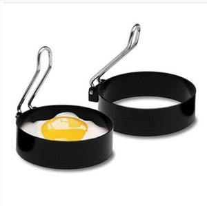 Free shipping Wholesales Round Breakfast Househol Mold Tool Stainless Steel Cooking Tool Omelette