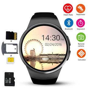 Winsun KW18 inteligente reloj de pulsera conectado para Samsung Xiaomi androide de la ayuda monitor de ritmo cardíaco llamada de teléfono Messager SmartWatch
