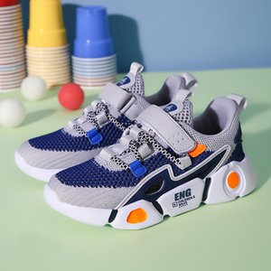 Sneakers For Boys And Girls Children Casual Shoes Hook Loop Boys Sneakers Outdoor Jogging Light Soft Sport Running Child Shoes