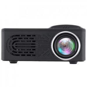 FREESHIPPING RD 814 البسيطة HD LED المحمولة المنزلية متعدد الوسائط دعم 80 بوصة شاشة العرض الكبيرة مع جهاز التحكم عن بعد للمنزل