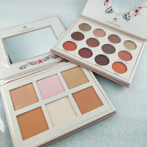 Maquillage Newest brand Makeup eye shadow Palette HANK HENRY Palette 12 color Eyeshadow dhl free shipping