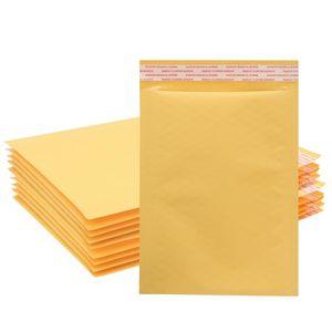 Blase aufgefüllte Umschlag-Mailers Taschen 12x18cm Kraft Papier Mail-Padded Verpackung Mailers Self Sealing Verschiffen Paket Beutel Wholesale - 0059PACK