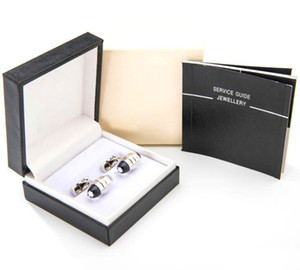 hediye kutusu ile 14 erkek Manşet iLnks lüks kol düğmesi iş beyefendi ünlü Alman gömlek Kol Düğmeleri Kaliteli erkek düğün Kol Düğmeleri