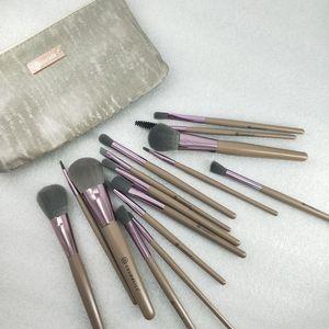 2020 новый Maquillage бренд высокое качество макияж кисти 15 шт. / компл. кисть с PU мешок Профессиональная кисть для пудры румяна тени для век dhl
