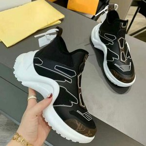 Luxury designer 2020 QJ couple casual sneakers high quality breathable thick bottom casual shoes men and women luxury sneakers old ua23