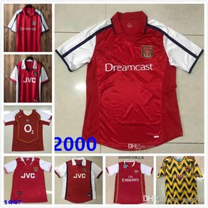 1997 1998 1999 2000 2002 2003 2005 2006 2007 2008 camisa de futebol HENRY Retro soccer Pires FABREGAS Ljungberg Vieira v. PERSIE BERGKAMP