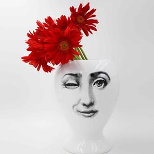 100% New Creative Design Pattern Brand Vase Гостиной Декорированная ваза фарфоровая ваза цветы Ваза для домов