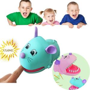2020 Yaratıcı Fare Toy 1pcs Komik Yenilikçi Aile Partisi Oyunu Sevimli Fare Diş Bite Parmak Oyuncak Çocuk Hediyeleri