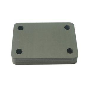 Carving Board Desptop CNC Learning Test Sheet Placa Multi-função 85x60mm PVC DIY CNC Test Board Router