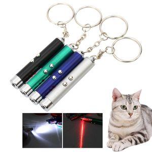 Дешевые игрушки 2 В 1 Red Cat Игрушка Смешной палочки лазерной указка Cat игрушки Pen светодиодного Pet Laser Toy