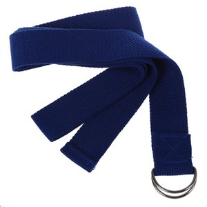 "1 PCS Random Color 67"" exercise Yoga Stretching Strap Polyester-cotton Belt Pilates Fitness Prop"