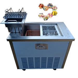 Venda de novos dual-mode máquina de gelo picolé comercial máquina de sorvete totalmente automático máquina de picolé artesanal italiano