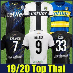 2019 2020 Parma Calcio INGLESE soccer jerseys GERVINHO DARMIAN KARAMOH football shirts Parma GERVINHO GRASSI HERNANI JR soccer uniform 19/20