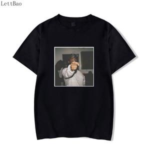 Retro Classic Juice Wrld Stampa Moda Hip Hop Cantante Rock Harajuku Mens T Shirt Nero Cool Summer Tshirt Streetwear T-Shirt Uomo
