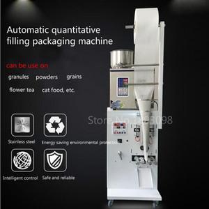 máquina de llenado cuantitativa 50-500g nuevo llenado de polvo de gránulos máquina de embalaje de hardware tornillo automática del peso de sellado máquina de embalaje