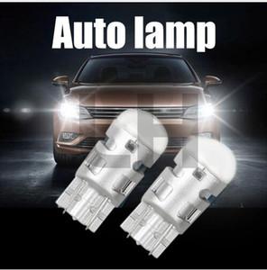 2x 6000K белый автомобиль лампочка 3030 1SMD авто чтение парковочные огни Sidemarker лампы боковой свет лампы T10 W5W Led Клин