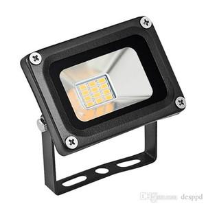 2PCS YENİ 10W 12V LED Projektörler Spotlight Led Arama Işık Açık Lambası Bahçe Sokak Square 12 Volt Coldwhite Projektör