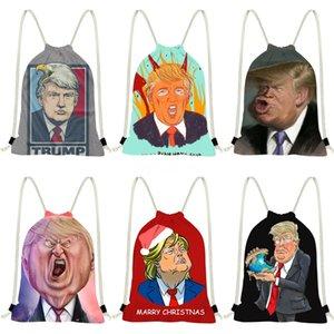Trump Siyah Kabartma Trump Sırt Çantası Tote Pu Deri Moda Trump Çanta Ünlü Marka Omuz Çantası Yüksek Kalite # 127