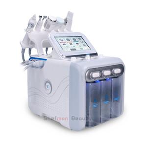 6 en 1 Hydra Facial Machine RF rejuvenaiton de la piel Microdermabrasion Hydro Dermabrasion Bio-lifting Eliminación de arrugas Hydrafacial Spa Machine