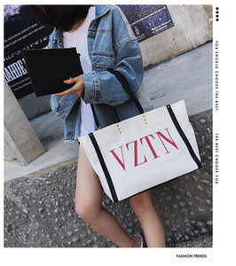 las mujeres de la lona de la marca de capacidad grandes señoras bolsa bolso de lujo casuales hombro del diseñador bolsas de mensajero bolsas de cuero del envío
