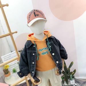 Dream Chasing Childrens Clothing 2020 Autumn Baby Denim Jacket Western Style Childrens Clothing Childrens Jacket Jacket 20326291