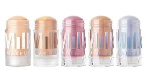 Milch Make-up Matte Primer Unschärfe Stick Leuchtende Holographische Stöcke Highlighter 5 Shades Original Qualität Glühen Concealer Kosmetik Kostenloser Versand