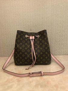 shoulder bags Noé leather bucket bag women famous brands designer handbags high quality flower printing crossbody bag purse TWIST