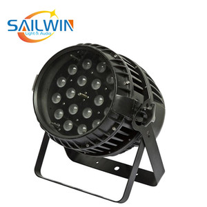 CHINA SAILWIN 18 * 10W 6IN1 RGBAW + UV ZOOM للماء LED PAR ضوء USE لحفل الزفاف، DJ ديسكو