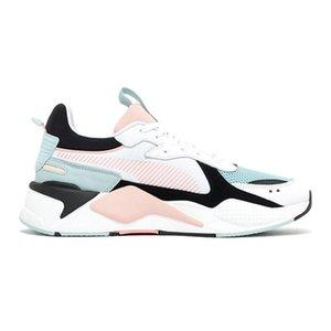 al por mayor de alta calidad de los zapatos corrientes de la nueva llegada RS Marca Juguetes brillante melocotón Reinvención Hot Wheels x zapatillas de deporte de los diseñadores