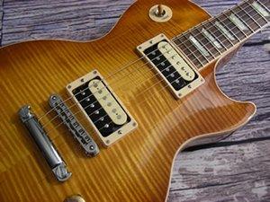 guitare électrique, Burst Lemon, Custom Guitars Zabra