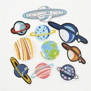 100pcs Ufologia estrangeiro UFO disco voador Emblem gracejo engraçado Vestuário Jeans Ferro no remendo