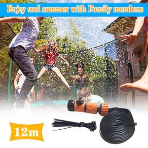 12m Summer Water Sprinkler Trampoline Sprinkler Outdoor Garden Water Games Toy Sprayer Backyard Park Accessories #3