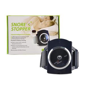 원조 적외선 레이 지능형 잠자는 코 고는 스토퍼 손목 밴드 스마트 수면 무호흡증 기계 새로운 발명 안티 코 고는 시계 팔찌 장치