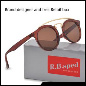 Occhiali da sole firmati 2020 Designer donna uomo Moda Occhiali da sole oculos vintage ultra-testurizzati retrò con cassa e scatola marroni gratuite