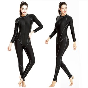 Femmes Maillots De Bain 2018 Bikini Diving Suit Maillot De Bain De Haute Qualité Cover Up Zipper Rétro Body Maillot De Bain Fille Sports Biquini