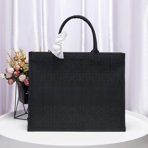 Üst satış Alışveriş Çantası tuval deri kaliteli ünlü moda rahat İğne nakış kadın el çantaları Dizüstü torbayı totes evrak çantası