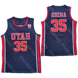 2020 Nueva Utah Utes jerseys de baloncesto de la universidad de New NCAA 35 Kyle Kuzma Todo cosido y bordado Tamaño de los hombres de la Juventud