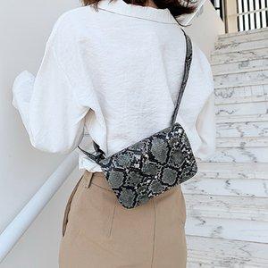 New Serpentine women fashion designer waist bust bags lady shoulder Crossbody messenger purses black khaki purple blue color no1632