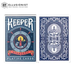 Ellusionist Blue Keeper Playing Cards Bicycle Deck USPCC Collectible Poker Magic Card Games Magic Tricks Props for Magician