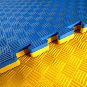 Materassino in schiuma eva colorata 2 mm di spessore foglio di schiuma eva e rotolo Eva Foam Taekwondo Puzzle Mat Judo Tatami Mat