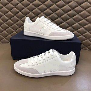 2020 pareja de diseñadores de zapatos comodidad tendencia B01 ZAPATO blanco y negro de piel de becerro ref zapatos 3SN225XZU_H069 Lefu