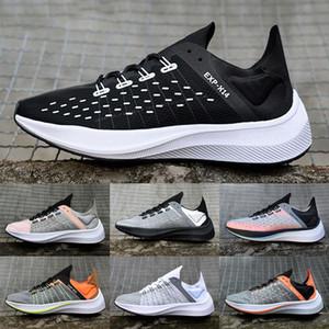 Translúcido Exp X14 Wmns corredor de atletismo zapatillas de deporte al aire libre del Mens mujeres negro blanco EXP-X14 zapatillas de deporte de la mosca de zoom entrenadores deportivos