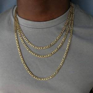 2020 Мода Классическая Цепь Ожерелье Мужчины Нержавеющая Сталь Длинное Ожерелье Для Мужчин Женщин Цепи Ювелирные Изделия