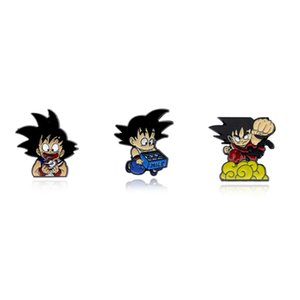 Cartoon Holding A Shoe Laughing Enamel Brooch Japanese Anime Cartoon Pin For kids Scarf Sweater BadgeHolding