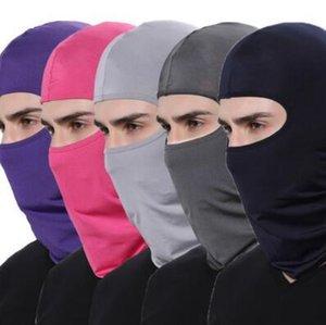 Windproof Bisiklet Yüz Maskeleri Tam Yüz Şapka Kış Isıtıcı Suç Bisiklet Spor Eşarp Açık Şapka Parti Şapkası CCA10826 60pcs Maske