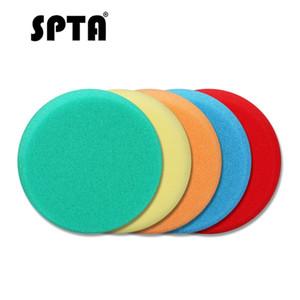 SPTA 3inch Car Sponge Polimento Encerando Pad Para polidor de automóveis Auto Polimento colorido Disc Set lustrando Polishing Foam Pad