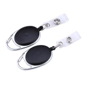 Выдвижной Прицепные Key Ring Chain Reel ID талреп Имя Тэг карты Знак держатель катушки Recoil пояса ключ клип Классический брелок CCA6968 1000шт