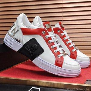 Üst Kalite Erkekler Dantel-up Lüks Phantom Kick $ Lo-Üst Karışık Malzeme Herren Schuhe Moda Tipi Kauçuk Taban Erkekler Ayakkabı Moda Luxury Shoes